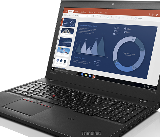 ThinkPad T560 security & reliability built in