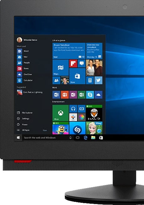ThinkCentre M700z All-in-One Desktop PC