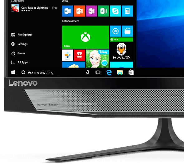 Lenovo Ideacentre AIO 720 (24) Desktop - Cortana