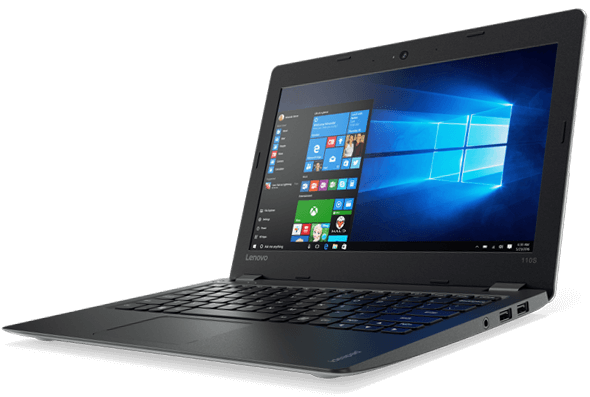 Lenovo ideapad 110S mit Windows 10 Home.