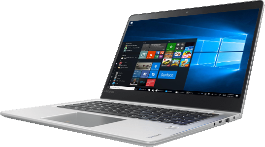 Lenovo Ideapad 710S Plus is powered by Windows 10 Home, so you can do more.