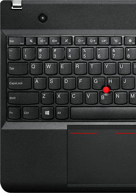 Lenovo laptop ThinkPad E540 award-winning keyboard