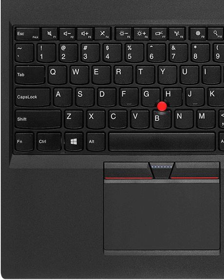 ThinkPad T560 enterprise Ultrabook keyboard