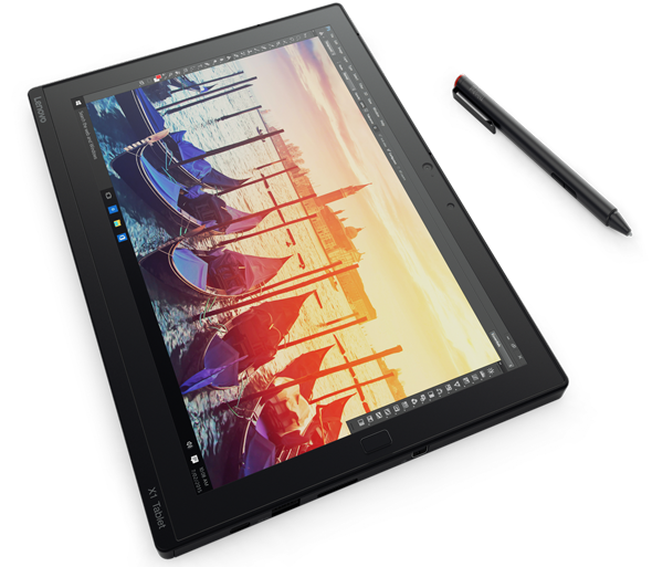 Use the stylus pen on the ThinkPad X1 Tablet to draw and write and edit.