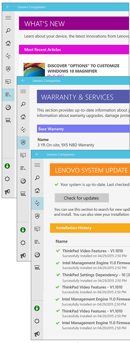 Lenovo Companion: App for Lenovo Devices | Lenovo Lithuania