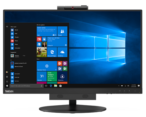Lenovo ThinkCentre Tiny-in-One24Touch Flachbildschirm