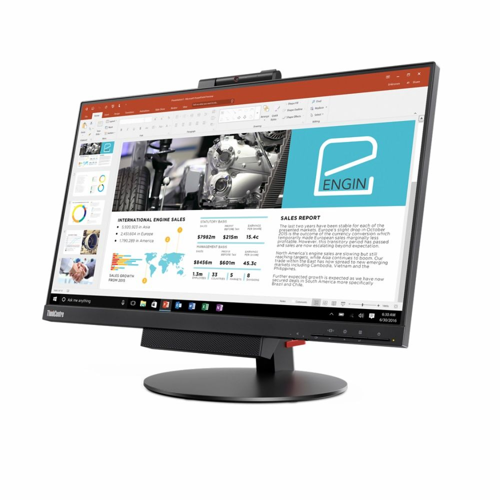 The ThinkCentre TinyInOne 24Gen3