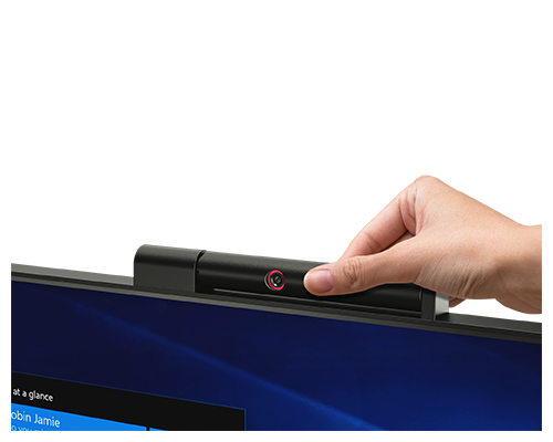 The ThinkCentre Tiny-in-One 22Gen3Touch