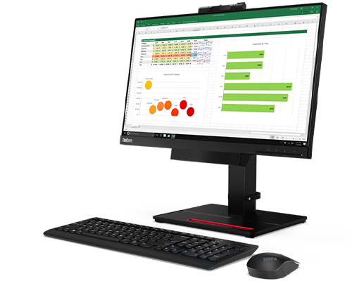ThinkCentre TIO22Gen4 21.5-inch WLED FHD- Monitor