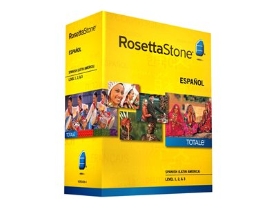 The Rosetta Stone Spanish (Latin America) Level 1, 2 & 3 Set - license (Electronic Download)