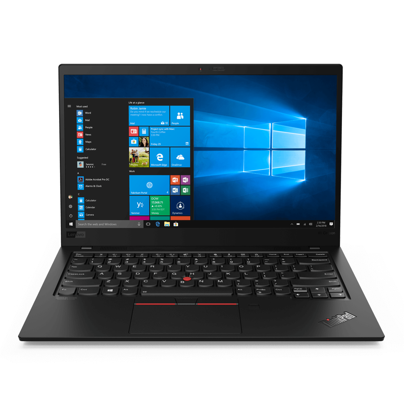 ThinkPad X1 Carbon - ブラック