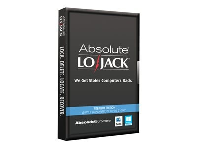 Absolute LoJack for Laptops Premium Edition - subscription (1 year) (ELECTRONIC DOWNLOAD)