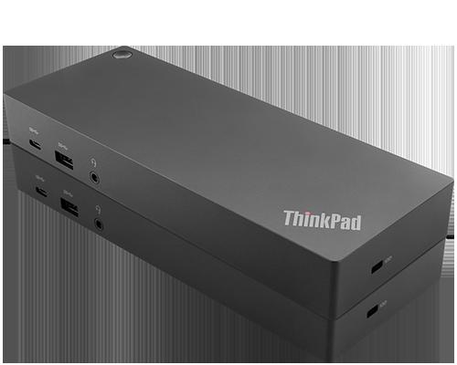 USB-C hybride ThinkPad avec station d'accueil USB-A (prise standard américaine de type B)