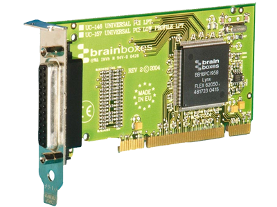 Brainboxes Universal PCI LPT Printer Port