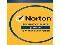 Norton Security Deluxe 15 Month Protection Up to 5 devices (Electronic Download)