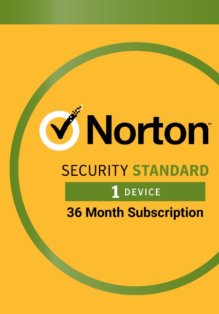 Norton Security Standard - 3 Year Protection (Electronic Download)