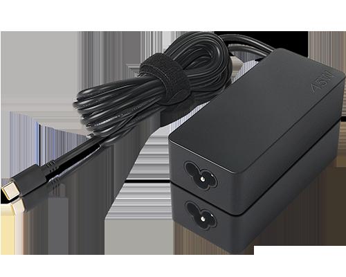 Lenovo Adaptador de CA Lenovo 45W estándar (USB Type-C): EE.UU./Can/Méx //