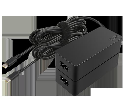 Lenovo Adaptador de CA Lenovo 65W estándar (USB Type-C): EE.UU./Can/Méx //