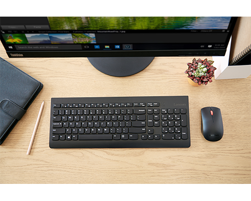 Lenovo Professional Wireless Combo Keyboard & Mouse (French Canadian 445)