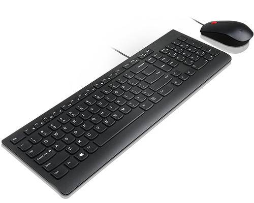 Lenovo Essential Wired Combo Keyboard and Mouse (US English 103P)