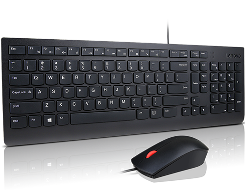 Lenovo Essential Wired Combo Keyboard and Mouse (LA Spanish 171)