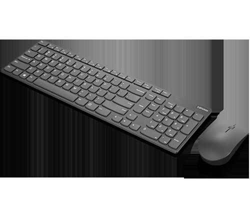 Clavier et souris combinés sans fil Lenovo Professional Ultraslim - Anglais américain