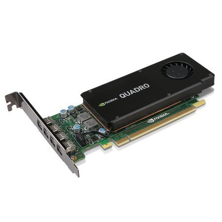 Lenovo Carte graphique NVIDIA Quadro K1200 4 mini DisplayPort avec support HP 4 Go de Lenovo