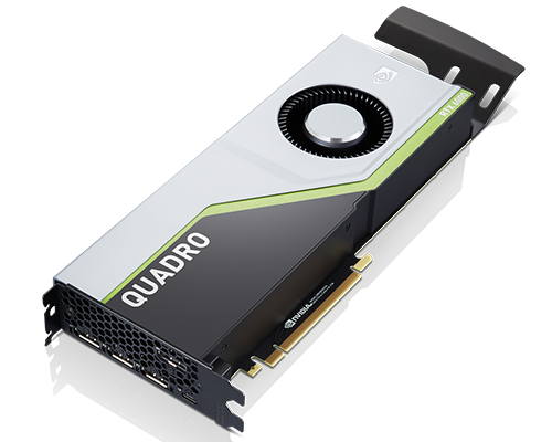 ThinkStation Nvidia Quadro RTX6000 24GB GDDR6 Graphics Card with Long Extender