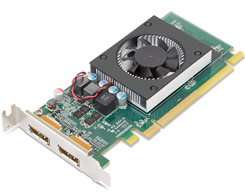 Lenovo AMD Radeon 520 2 Go GDDR5 Double DP Carte graphique avec support LP