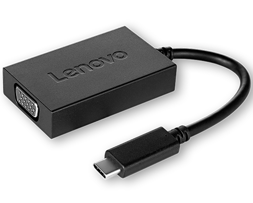 Lenovo USB-C to VGA Adapter with Power Pass-through