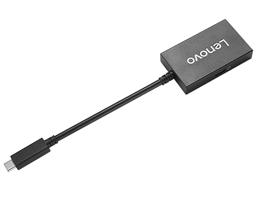 Adaptateur Lenovo USB-C à VGA avec transmission de l'alimentation