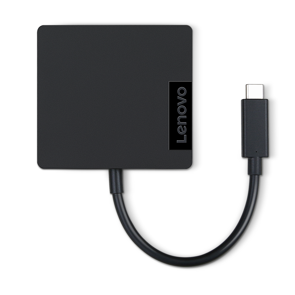 CABLE_BO Lenovo USB C Travel Hub