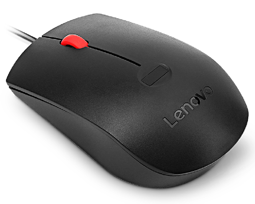Lenovo Fingerprint Biometric USB Mouse