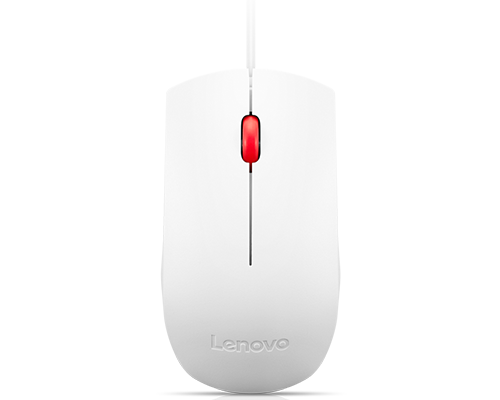 Souris Lenovo Essential USB (blanc)