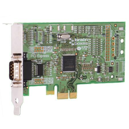 Brainboxes PX-235 PCI Express Low Profile 1 Port RS23