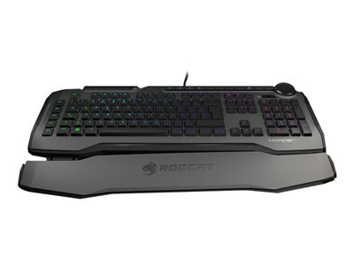 ROCCAT Horde AIMO - keyboard - with Tuning Wheel - US - gray