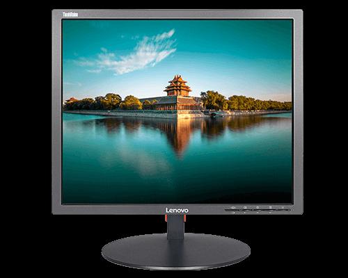 """Moniteur LCD à rétroéclairage del ThinkVision LT1913p de 19"""" à commutation carrée"""