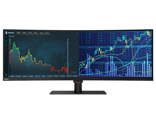 ThinkVision P44w-10 43.4 Inch 32:10 Curved HDR Monitor