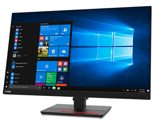 ThinkVision T27h-20 27-inch 16:9 QHD Monitor with USB Type-C