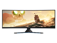 Lenovo Legion Y44w-10 43.4-inch WLED Curved Panel HDR Gaming Monitor