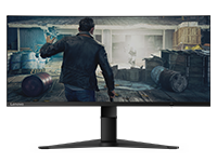 Lenovo G34w-10 WLED Ultra-Wide Curved Gaming Monitor