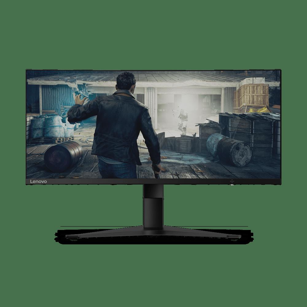 "Lenovo G34w-10 34"" Curved VA WLED FreeSync Gaming Monitor"
