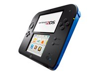 Lenovo Nintendo 2DS - handheld game console - electric blue The Nintendo 2DS system gives you all the features of the Nintendo 3DS and Nintendo 3DS XL, minus 3D viewing. And the price makes the world of Nintendo games even more accessible.<br />