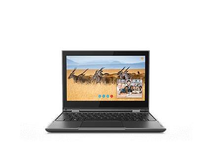 300e Chromebook (2nd Gen) - Black