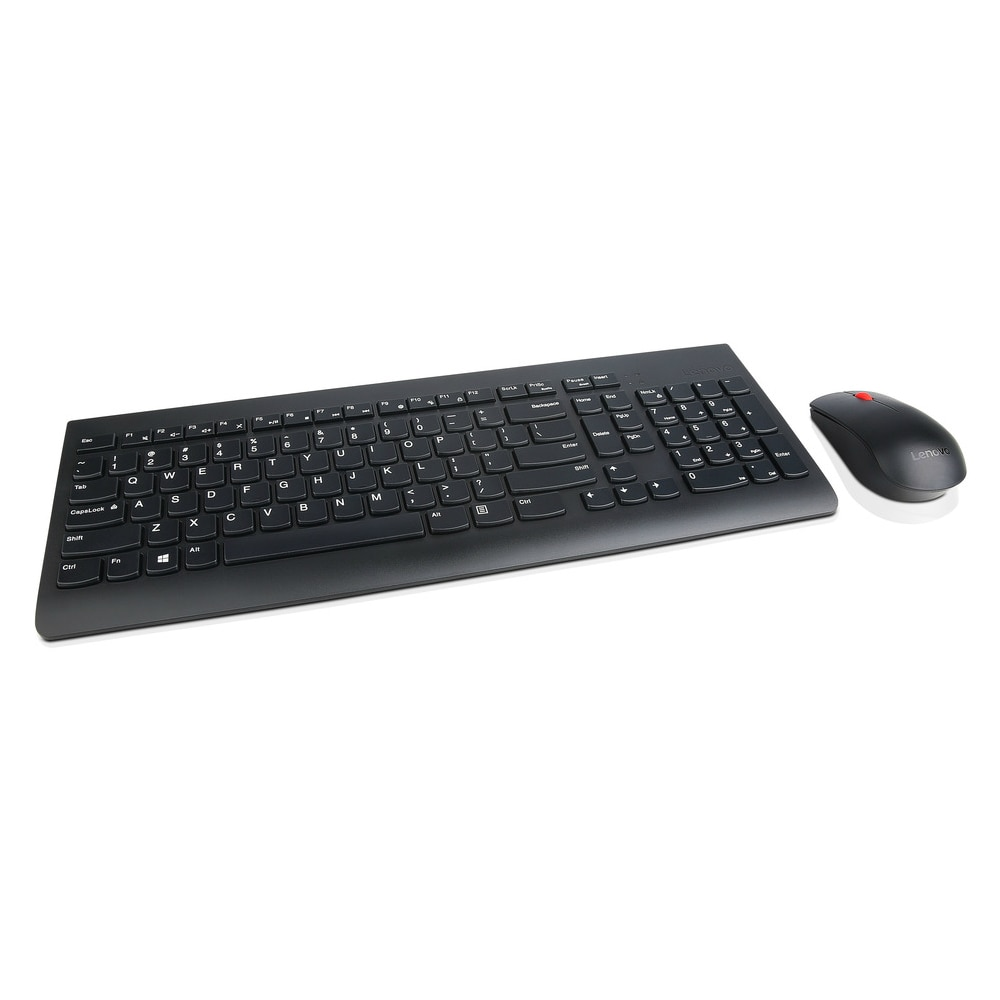 lenovo essential wireless combo keyboard mouse us english 103p keyboard mouse combos. Black Bedroom Furniture Sets. Home Design Ideas