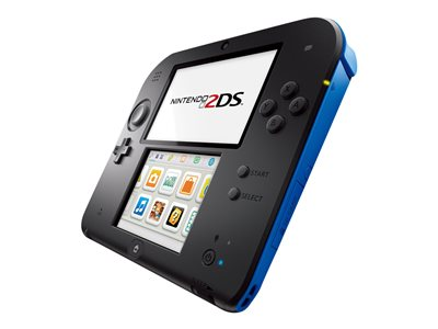 Nintendo 2DS - handheld game console - electric blue