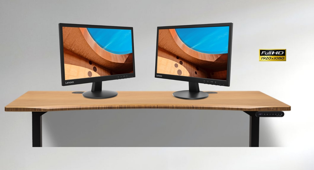 2x Lenovo D22 monitors for $125