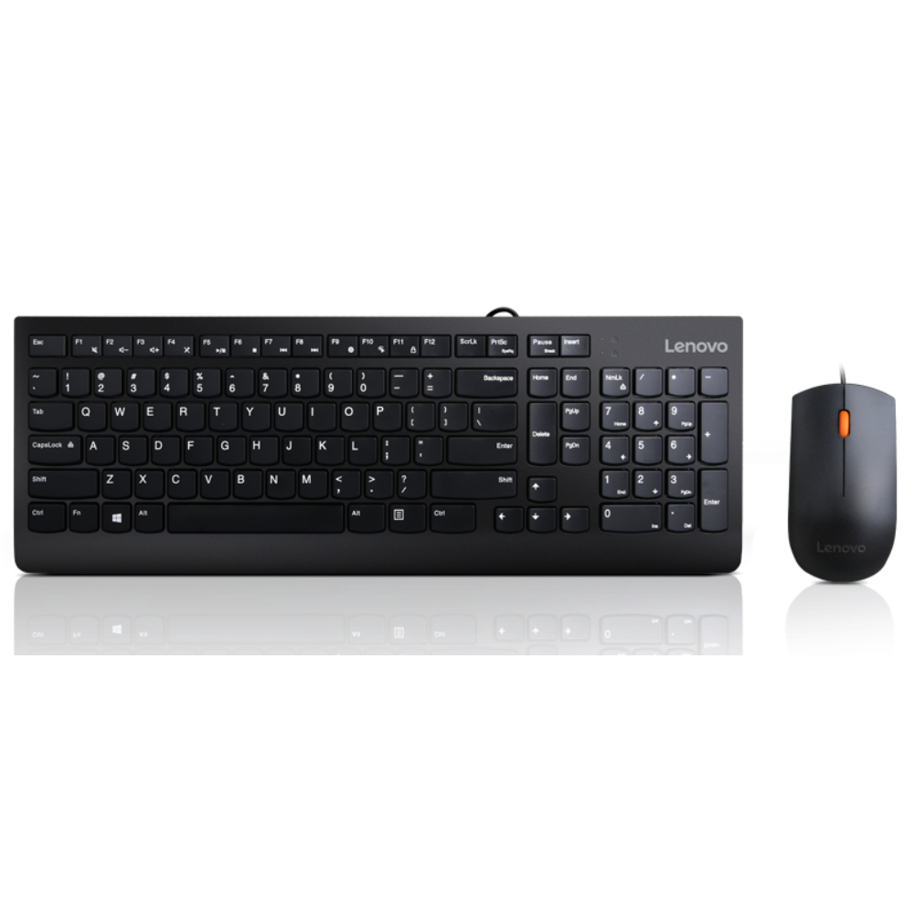 Lenovo 300 USB Combo Keyboard & Mouse - US English (103P)