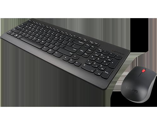 Clavier et souris sans fil combinés Lenovo 510 - Anglais américain (103P)