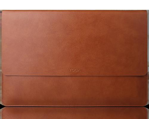 Pochette en cuir Lenovo yoga 910/920